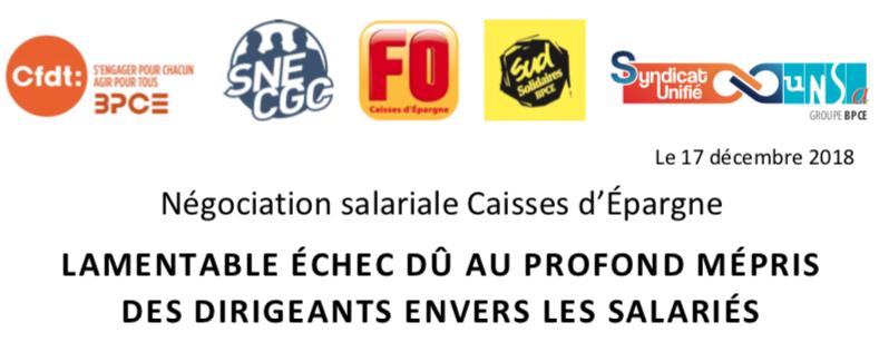 Negociation Salariale Caisse D Epargne Sud Solidaires Bpce
